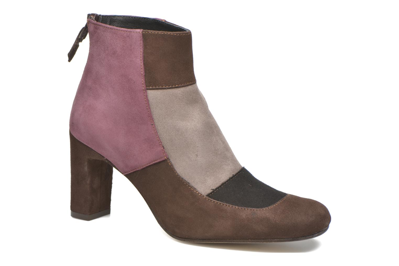 Ankle boots Elizabeth Stuart Gilou 300-4 Brown detailed view/ Pair view