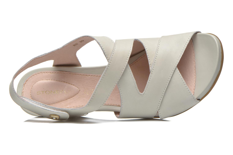 Sandales et nu-pieds Stonefly Athena 25 Gris vue gauche