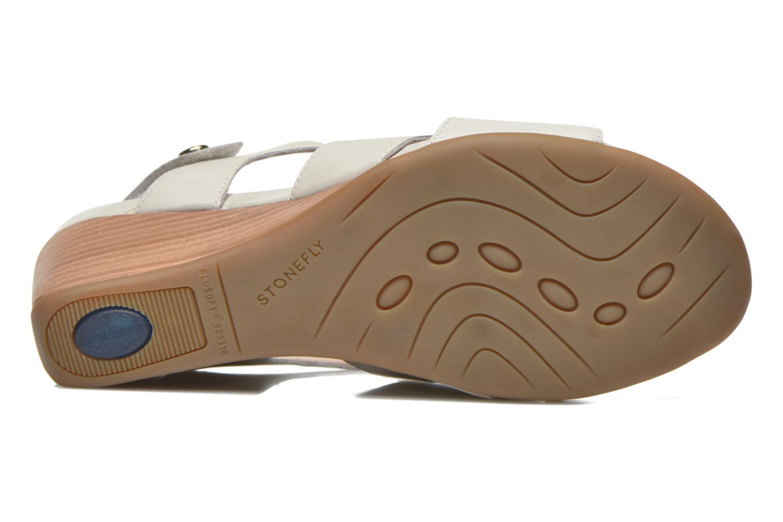 Sandales et nu-pieds Stonefly Athena 25 Gris vue haut