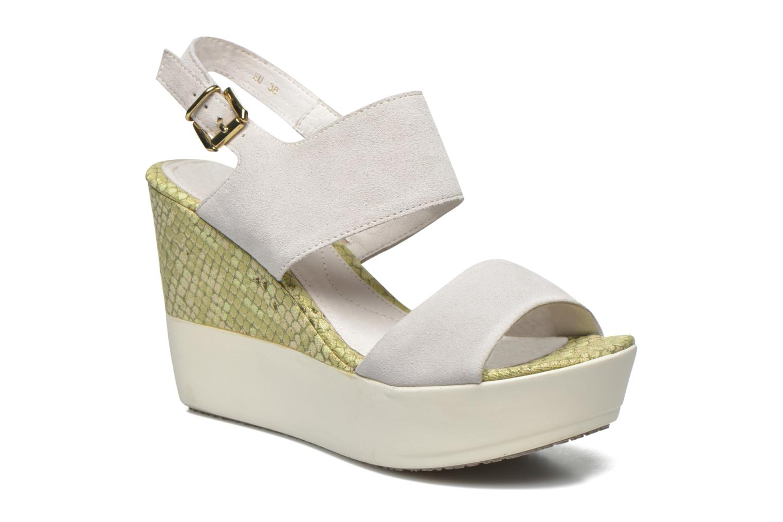 Grandes descuentos últimos zapatos Stonefly Saint Tropez 7 Velour (Beige) - Sandalias Descuento