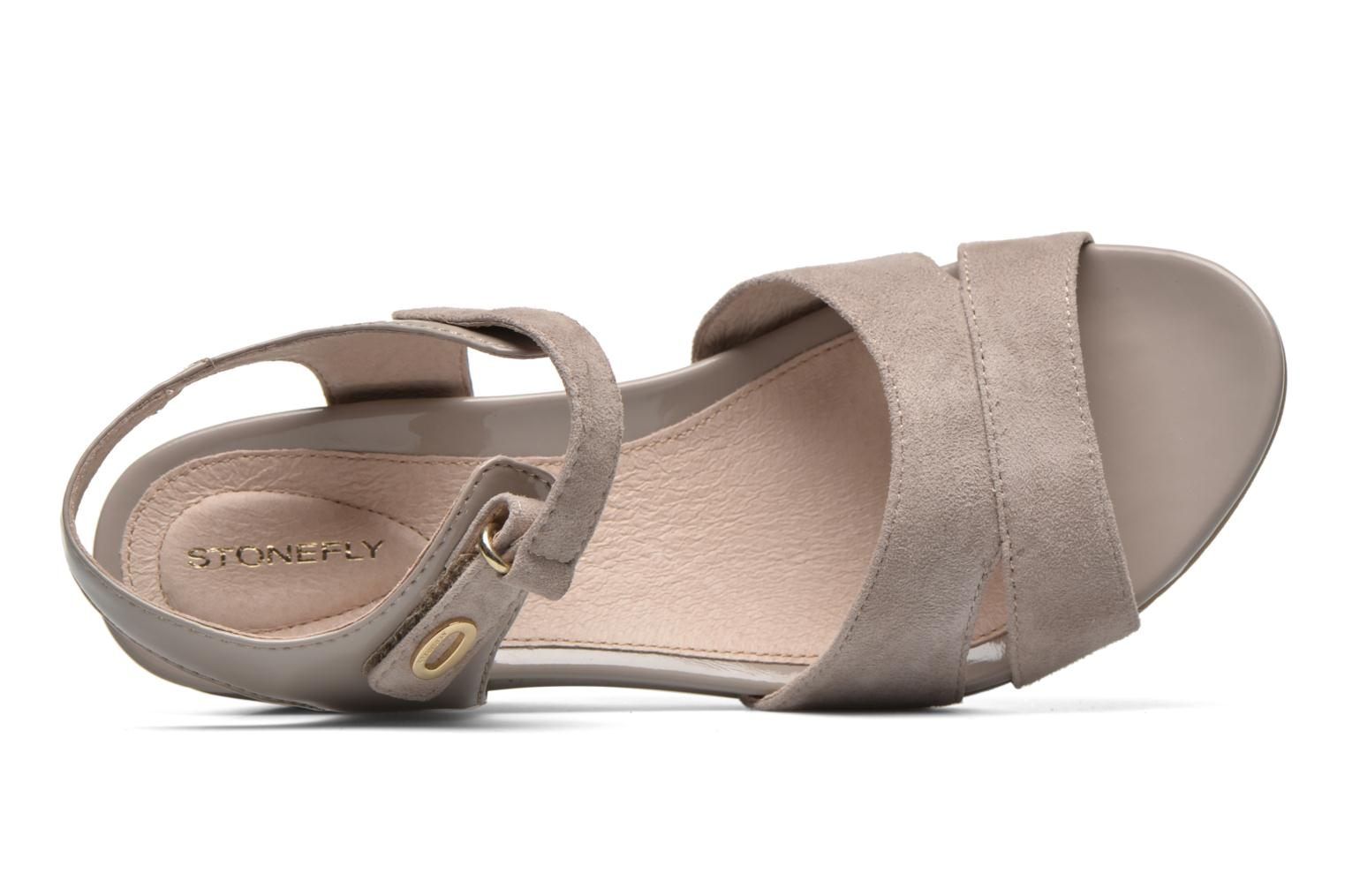 Sandals Stonefly Sweet II 27 Beige view from the left