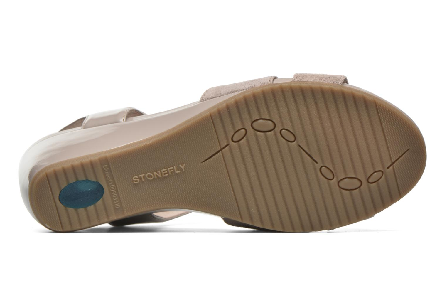 Sandals Stonefly Sweet II 27 Beige view from above