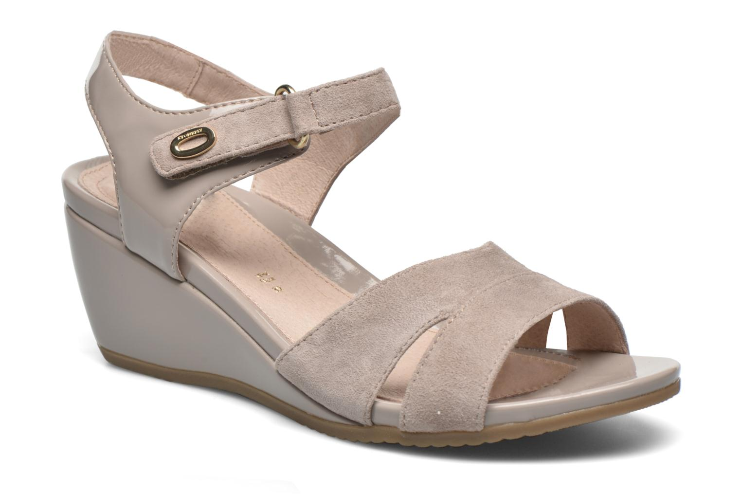 Sandals Stonefly Sweet II 27 Beige detailed view/ Pair view