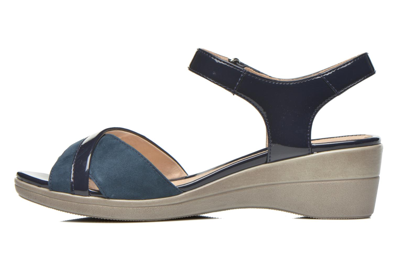 Sandals Stonefly Vanity III 3 Go Blue front view