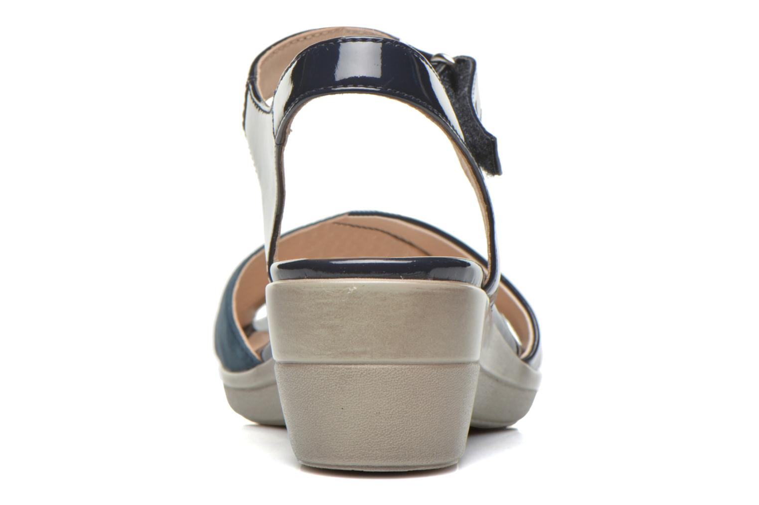 Sandals Stonefly Vanity III 3 Go Blue view from the right