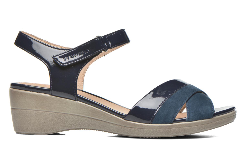 Sandals Stonefly Vanity III 3 Go Blue back view
