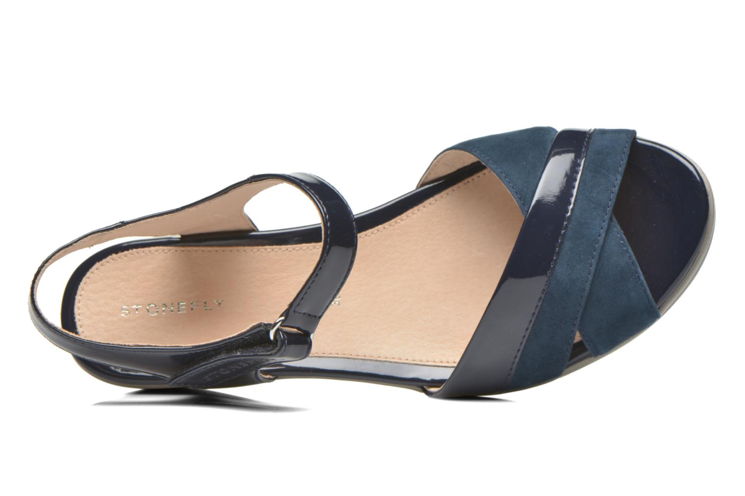 Sandals Stonefly Vanity III 3 Go Blue view from the left