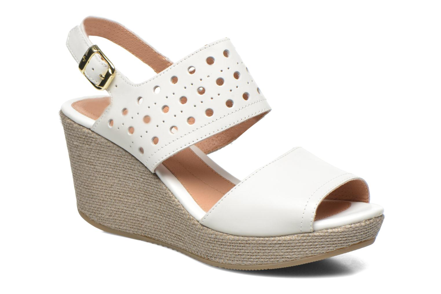 Sandals Stonefly Marlene 19 White detailed view/ Pair view