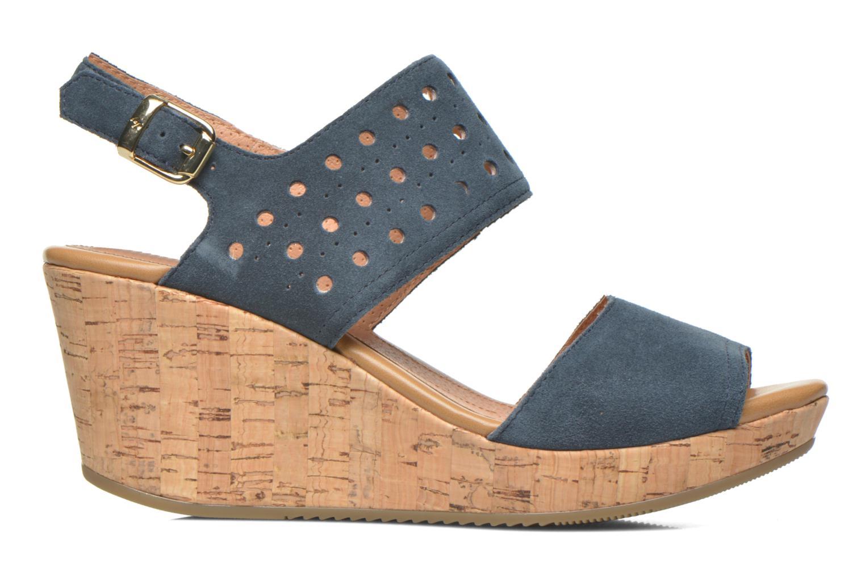 Sandals Stonefly Marlene 19 Velour Blue back view