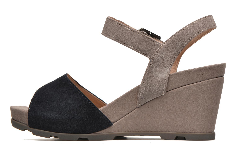 Sandales et nu-pieds Stonefly Anita 1 Velour Bleu vue face