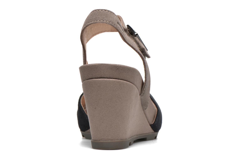 Sandales et nu-pieds Stonefly Anita 1 Velour Bleu vue droite