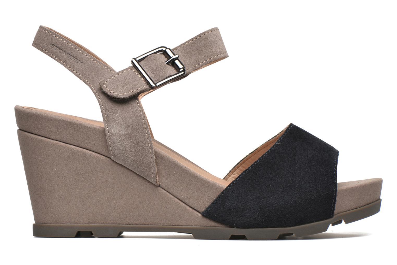 Sandales et nu-pieds Stonefly Anita 1 Velour Bleu vue derrière