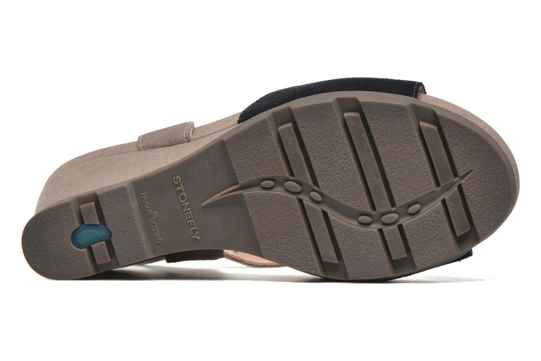 Sandali e scarpe aperte Stonefly Anita 1 Velour Azzurro immagine dall'alto