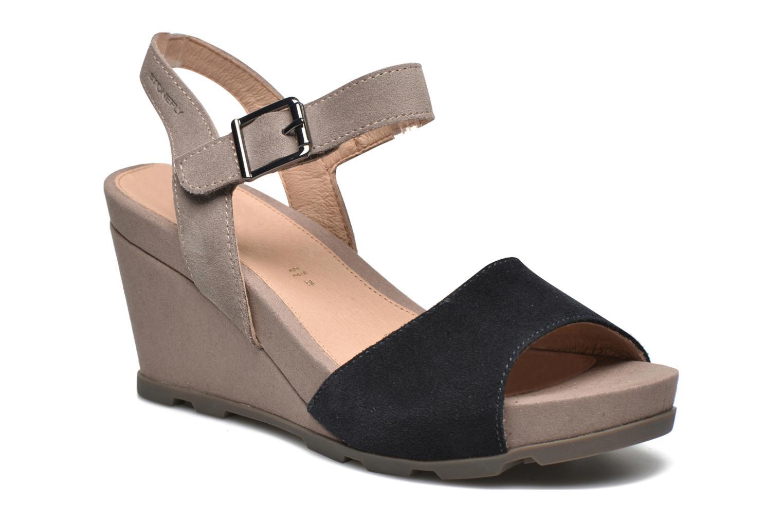Sandali e scarpe aperte Stonefly Anita 1 Velour Azzurro vedi dettaglio/paio