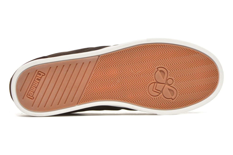 Sneaker Hummel Ten Star Mono Oiled Low braun ansicht von oben