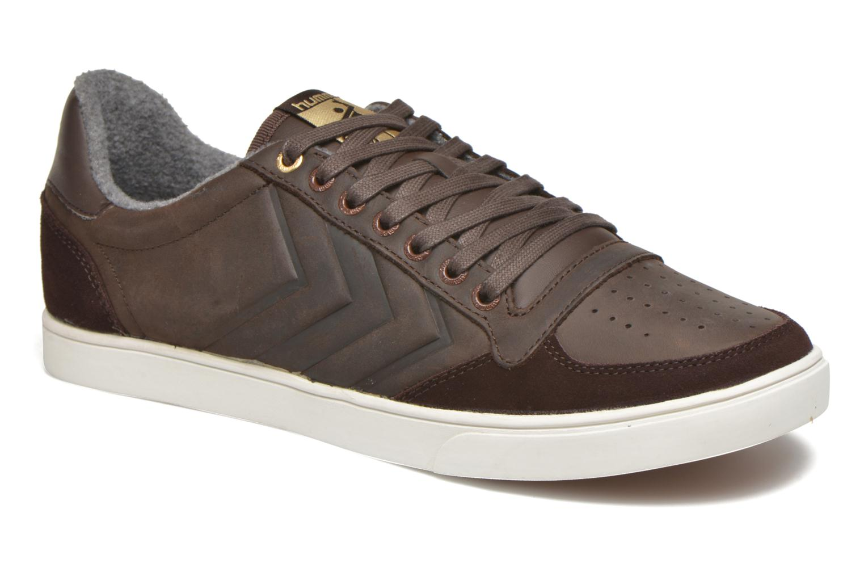 Sneaker Hummel Ten Star Mono Oiled Low braun detaillierte ansicht/modell