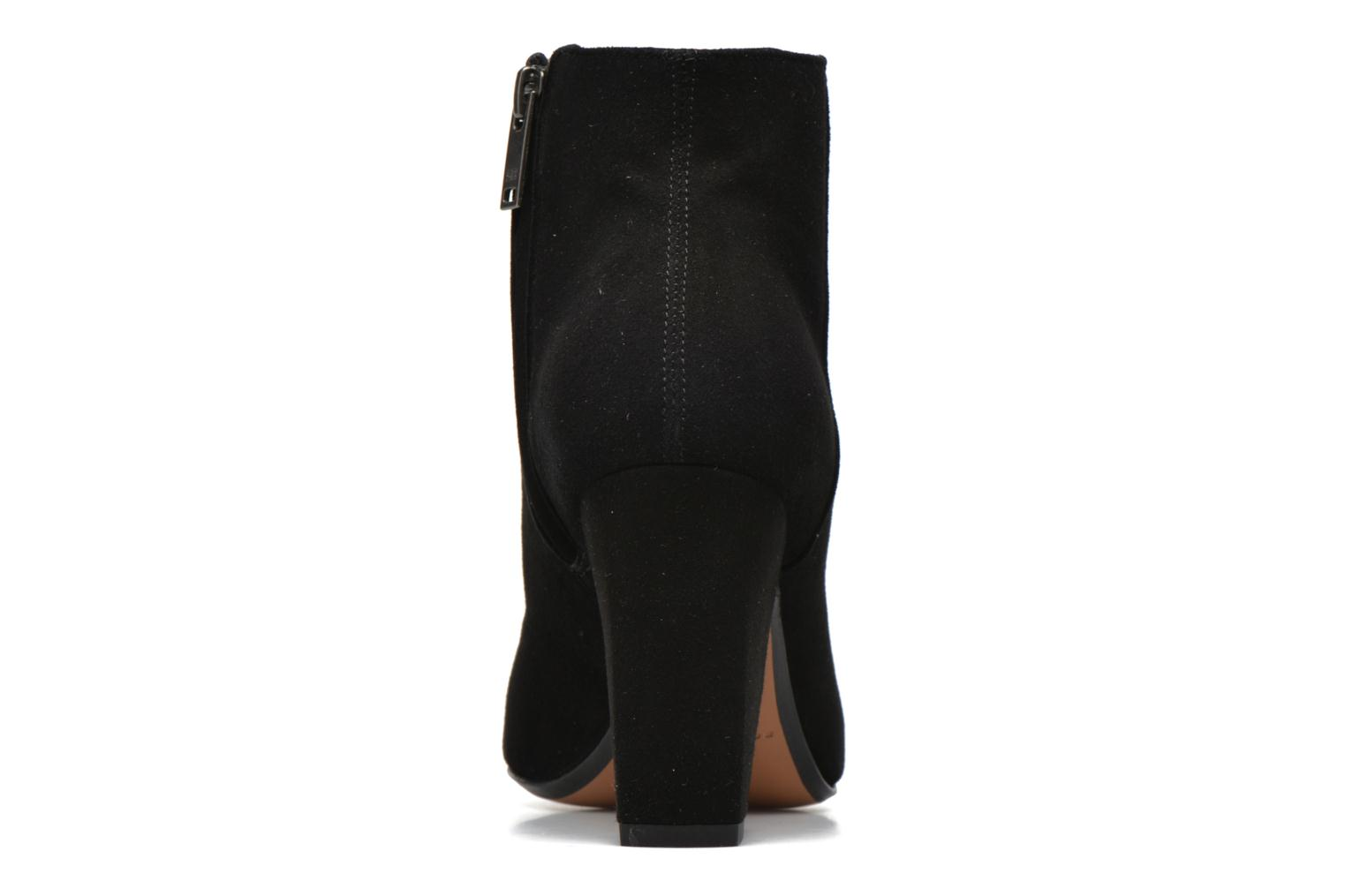 Ankle boots Sonia Rykiel Bottine Strassée Black view from the right