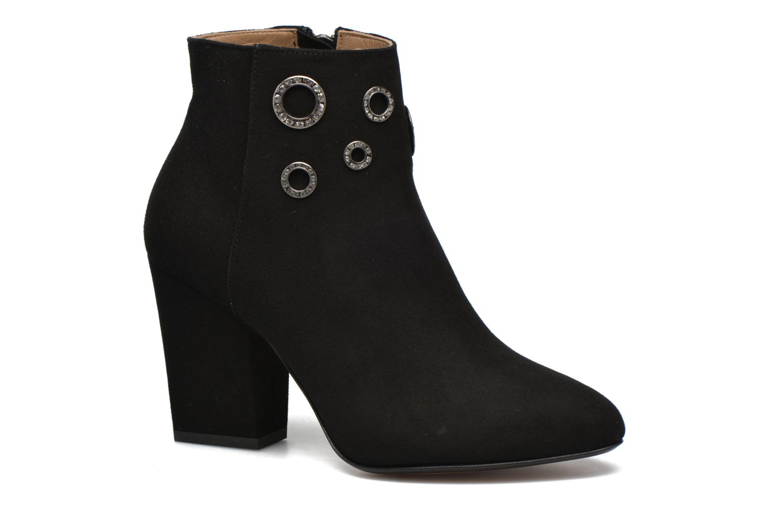 Ankle boots Sonia Rykiel Bottine Strassée Black detailed view/ Pair view