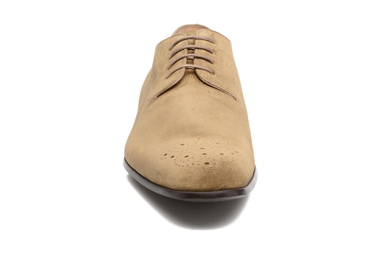 Chaussures à lacets Jean-Baptiste Rautureau Rija Derby Perfos Beige vue portées chaussures