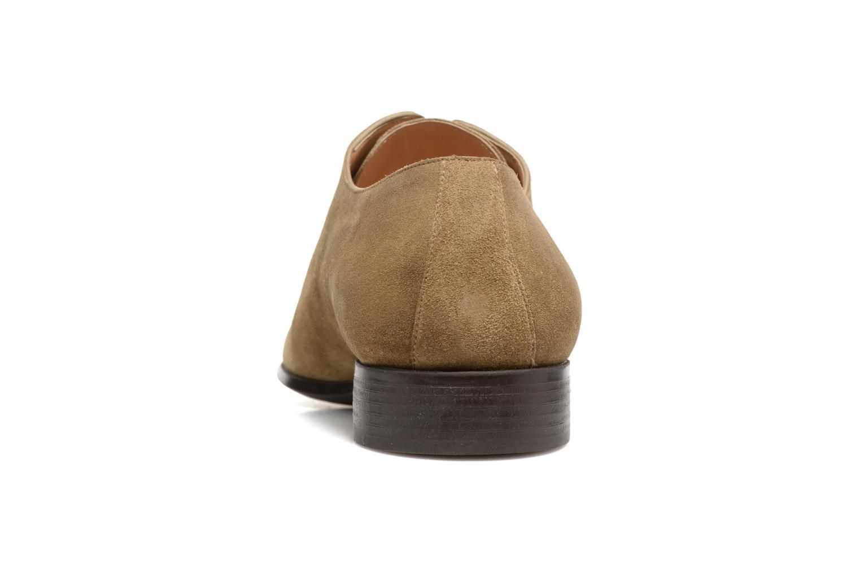 Chaussures à lacets Jean-Baptiste Rautureau Rija Derby Perfos Beige vue droite