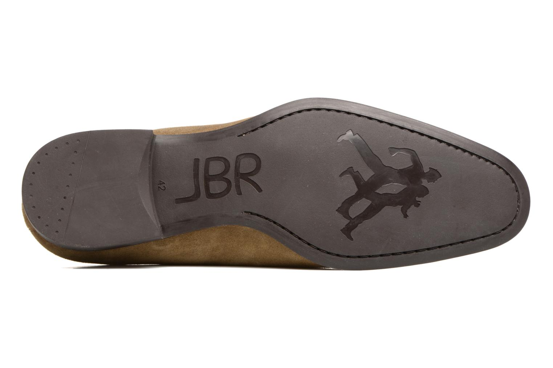 Chaussures à lacets Jean-Baptiste Rautureau Rija Derby Perfos Beige vue haut