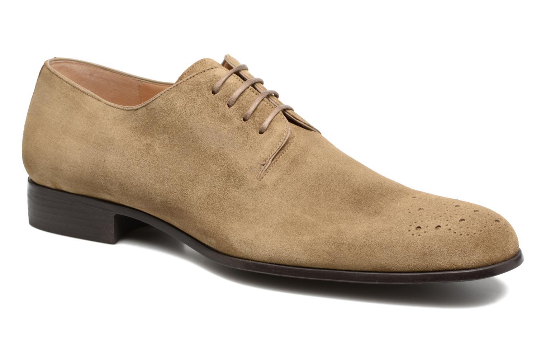 Chaussures à lacets Jean-Baptiste Rautureau Rija Derby Perfos Beige vue détail/paire