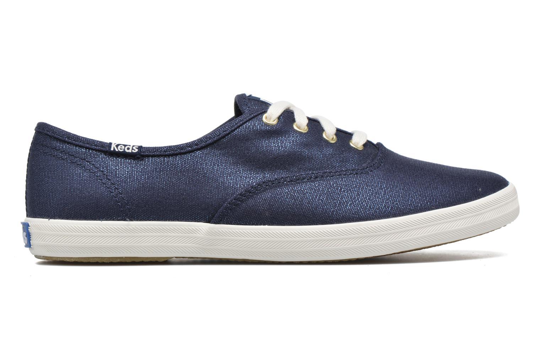 Sneaker Keds Ch Metallic Canvas blau ansicht von hinten