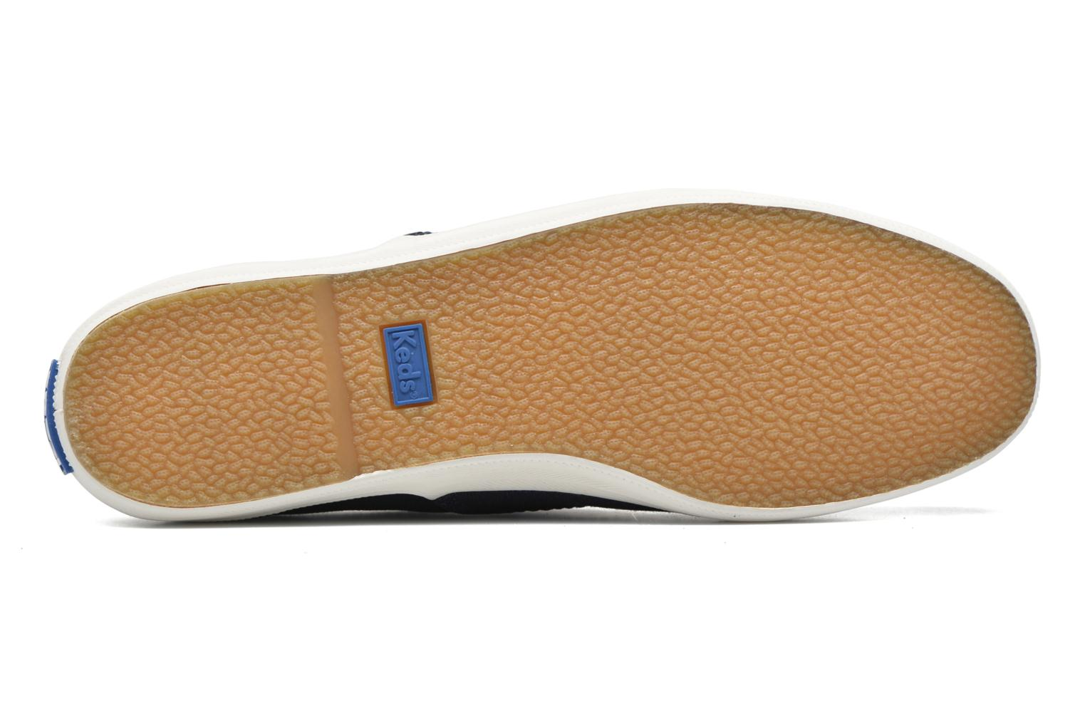 Trainers Keds Ch Metallic Canvas Blue view from above