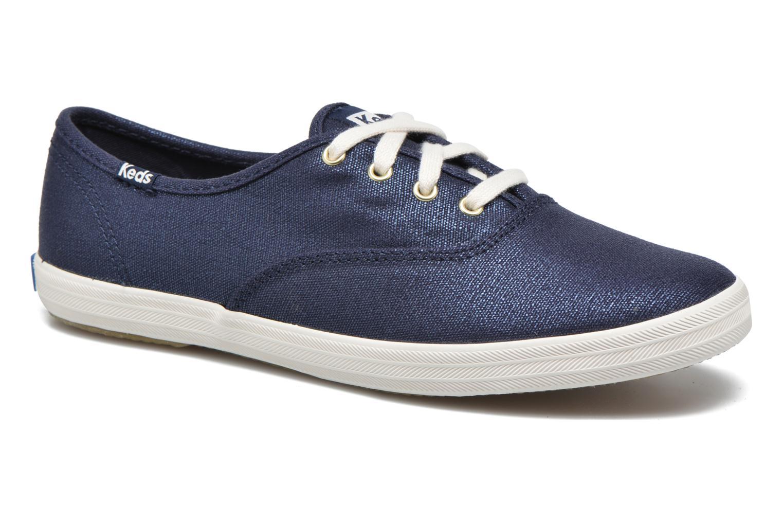 Sneaker Keds Ch Metallic Canvas blau detaillierte ansicht/modell