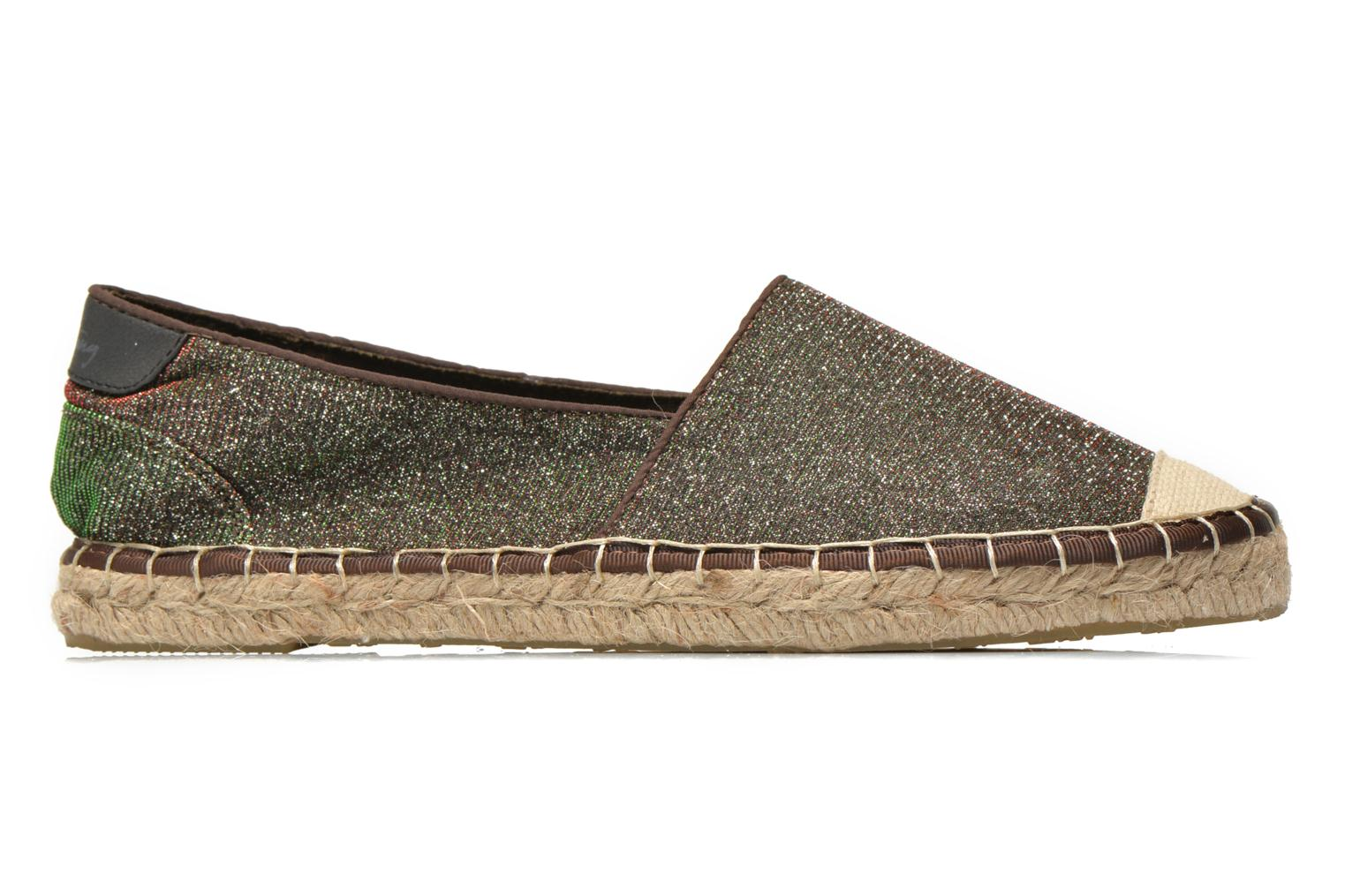 Espadrilles Mustang shoes Tatiana Multicolor back view