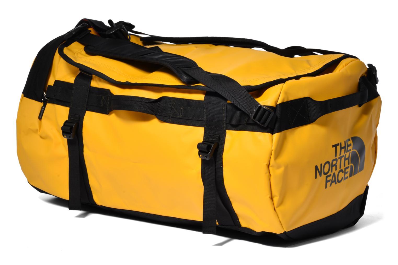 Bagages The North Face BASE CAMP - L Jaune vue portées chaussures