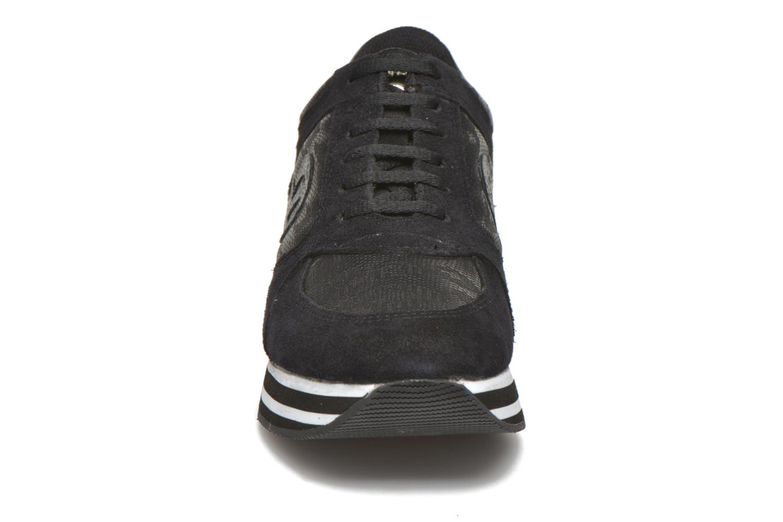Sneaker No Name Parko Jogger Split / Skin schwarz schuhe getragen