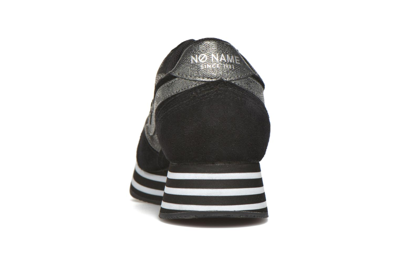 Baskets No Name Parko Jogger Split / Skin Noir vue droite