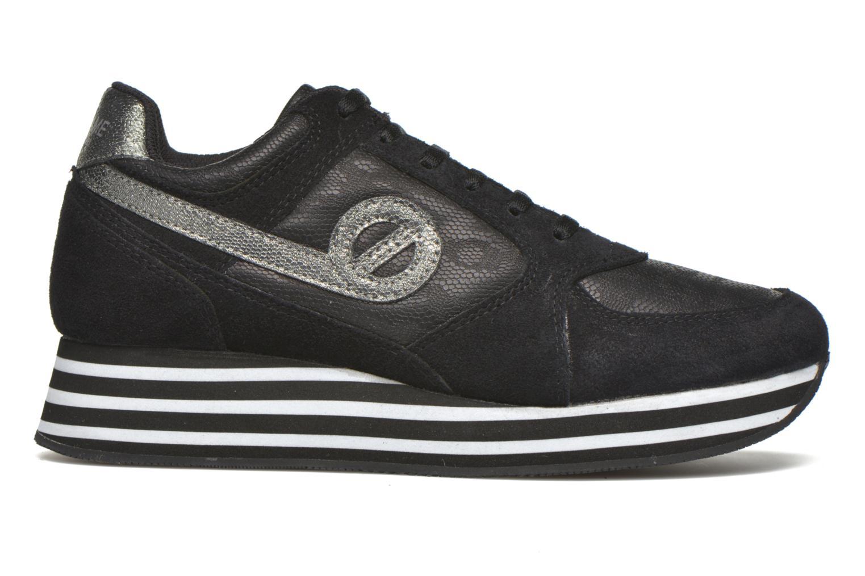 Sneaker No Name Parko Jogger Split / Skin schwarz ansicht von hinten