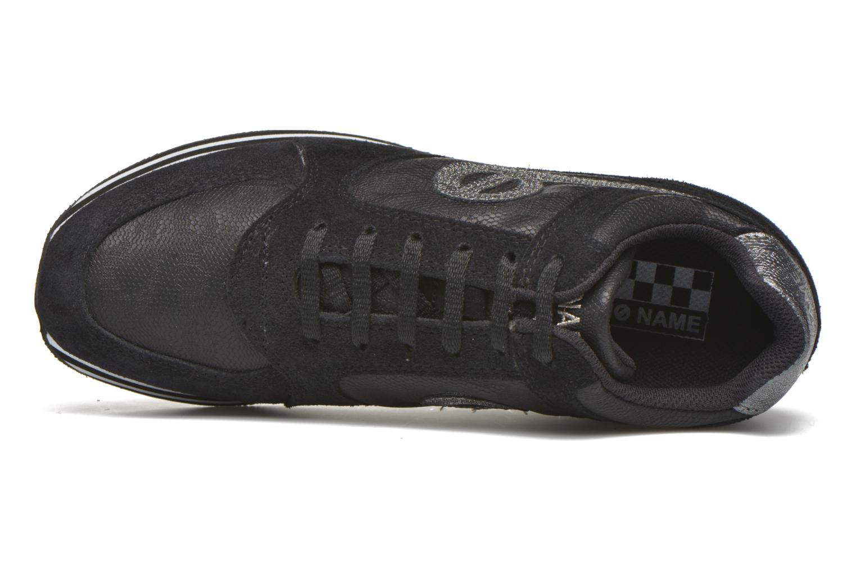 Sneaker No Name Parko Jogger Split / Skin schwarz ansicht von links