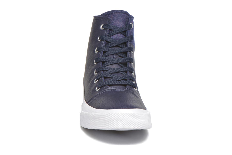 Sneaker Converse All Star Quantum Hi blau schuhe getragen