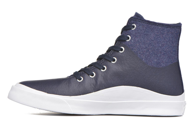 Sneaker Converse All Star Quantum Hi blau ansicht von vorne