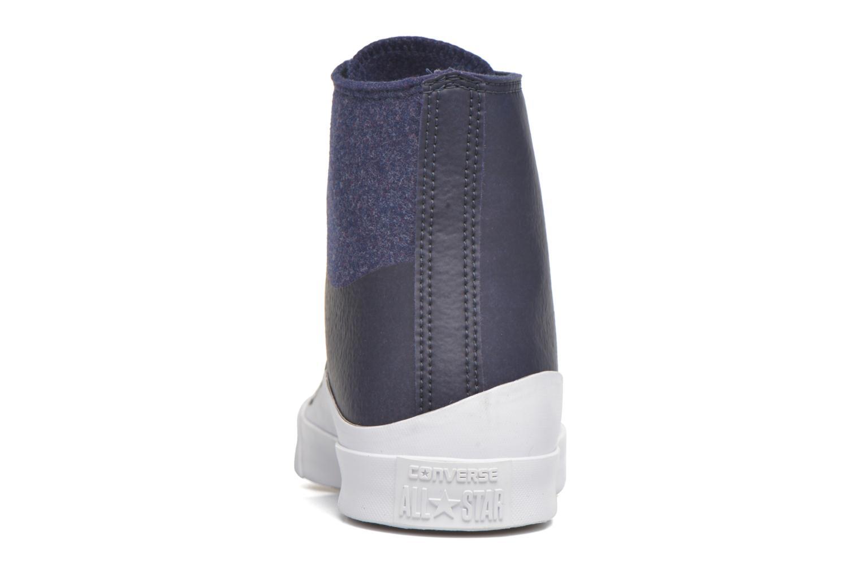 Sneaker Converse All Star Quantum Hi blau ansicht von rechts