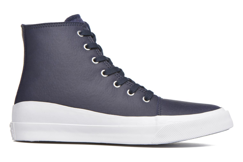 Sneaker Converse All Star Quantum Hi blau ansicht von hinten