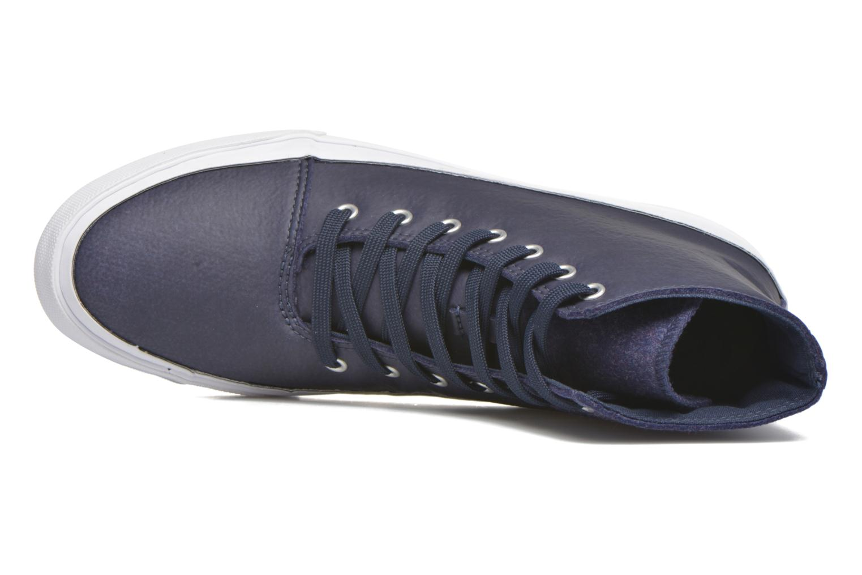 Sneaker Converse All Star Quantum Hi blau ansicht von links