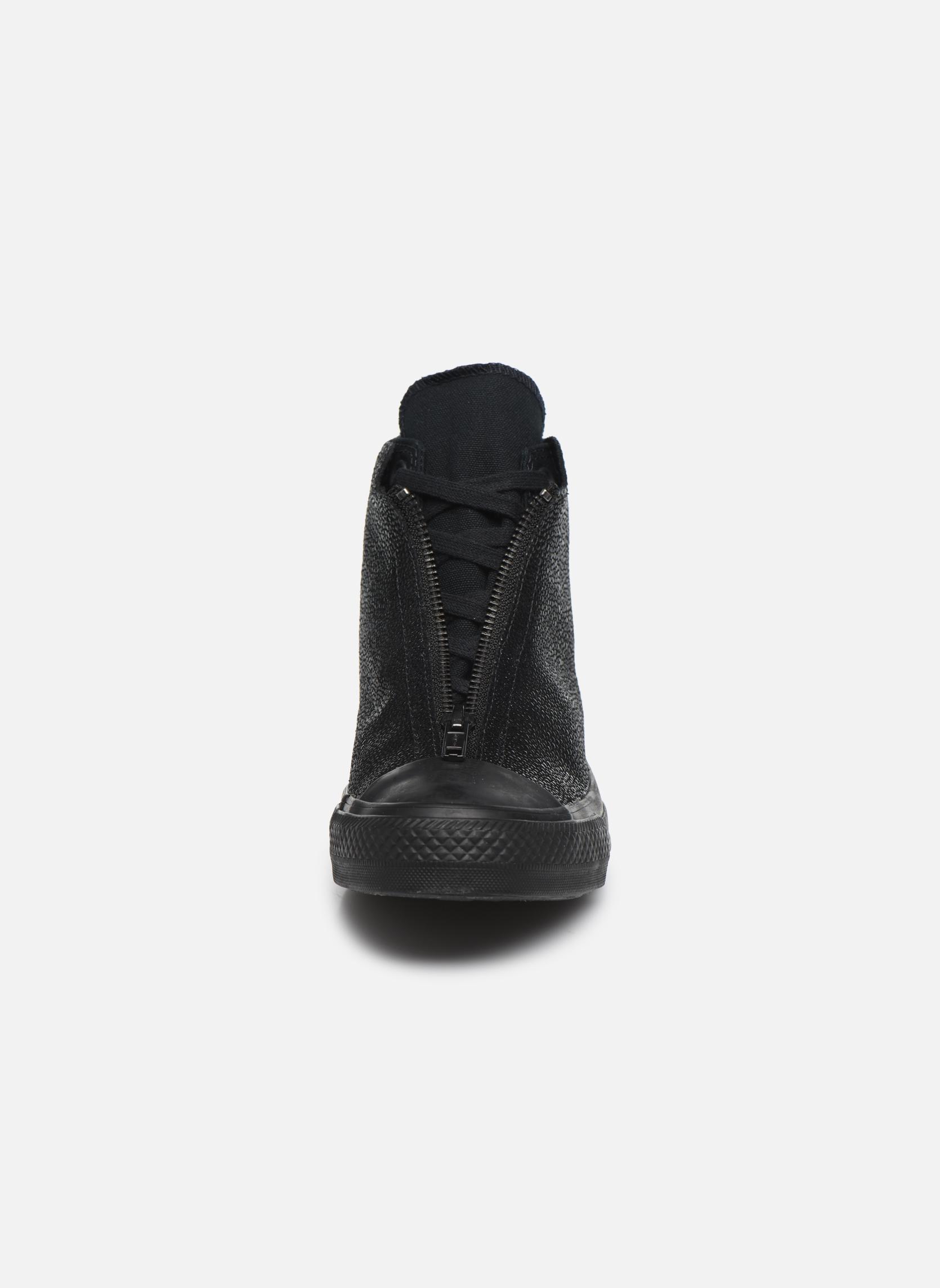 Baskets Converse Ctas Classic Shroud Hi Noir vue portées chaussures