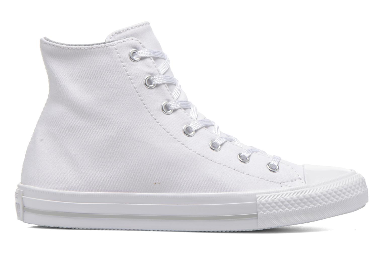 Sneaker Converse Chuck Taylor All Star Gemma Twill Hi weiß ansicht von hinten