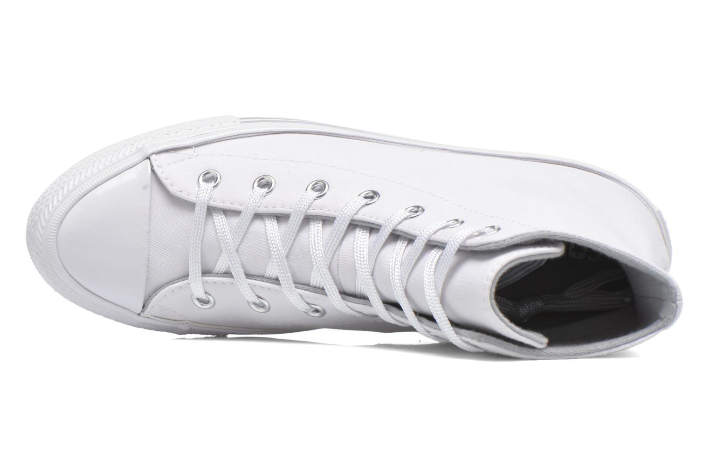 Sneaker Converse Chuck Taylor All Star Gemma Twill Hi weiß ansicht von links