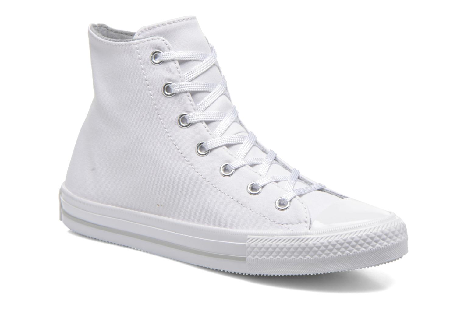 Donna Converse Chuck Taylor All Star Gemma Twill Hi Sneakers Bianco