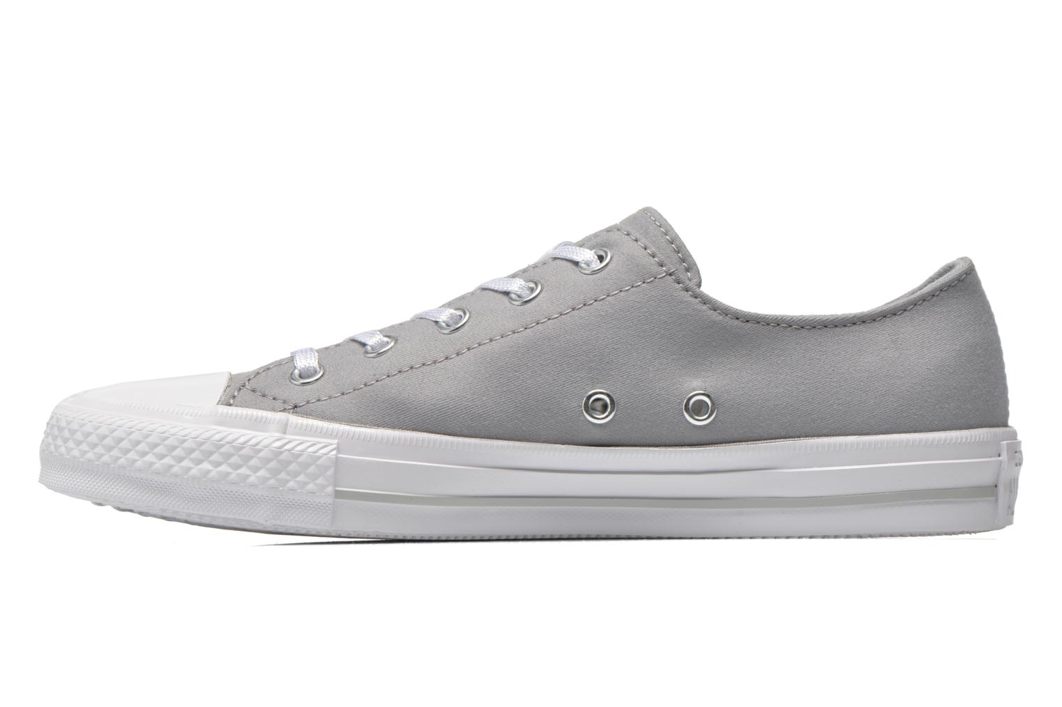 Trainers Converse Chuck Taylor All Star Gemma Twill Ox Grey front view
