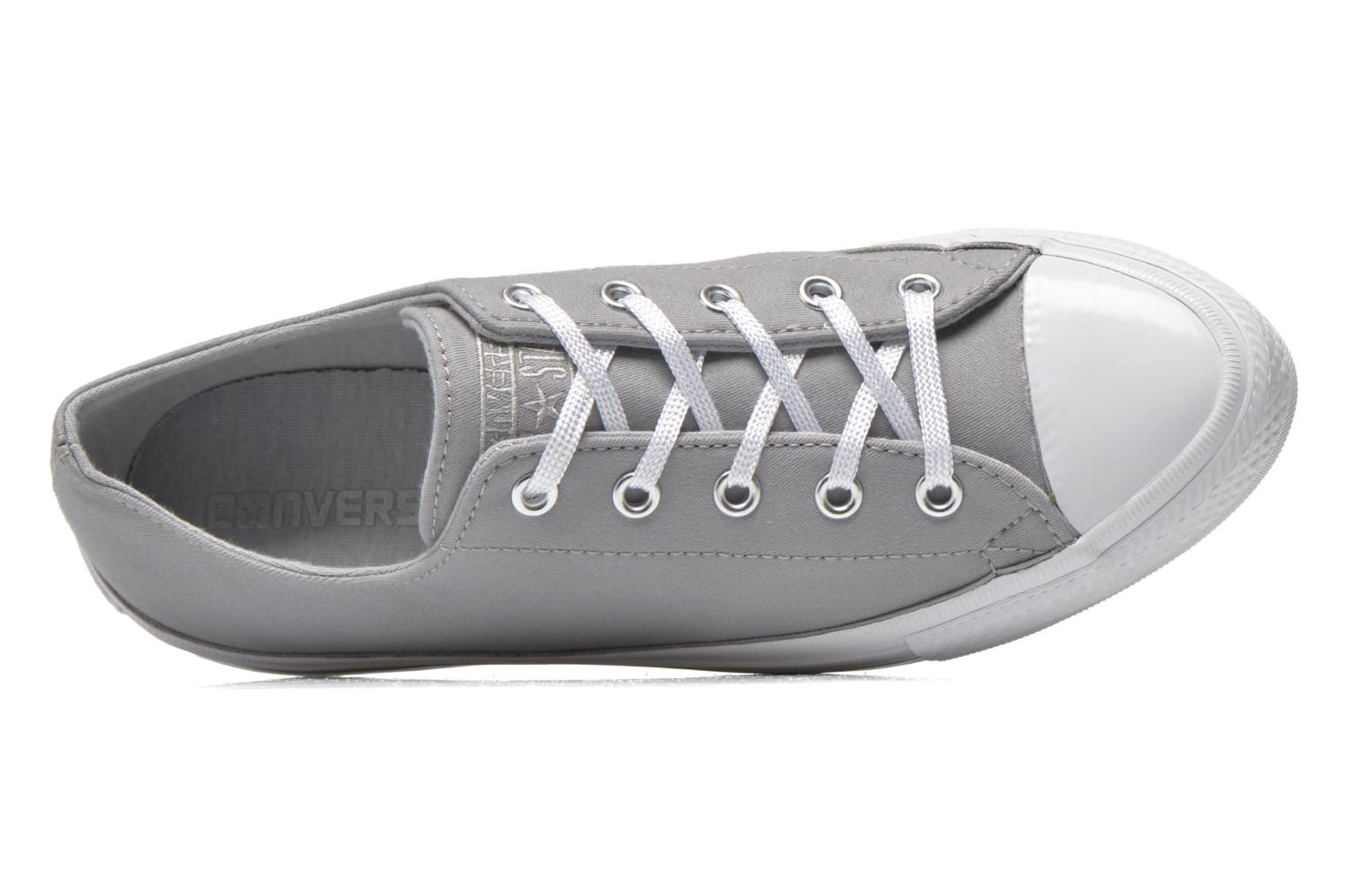 Trainers Converse Chuck Taylor All Star Gemma Twill Ox Grey view from the left