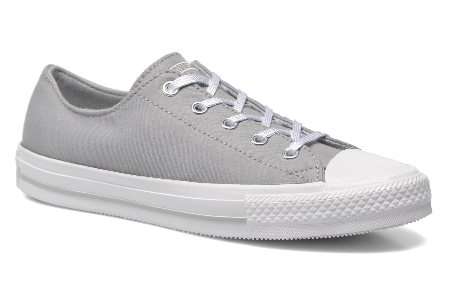 Trainers Converse Chuck Taylor All Star Gemma Twill Ox Grey detailed view/ Pair view