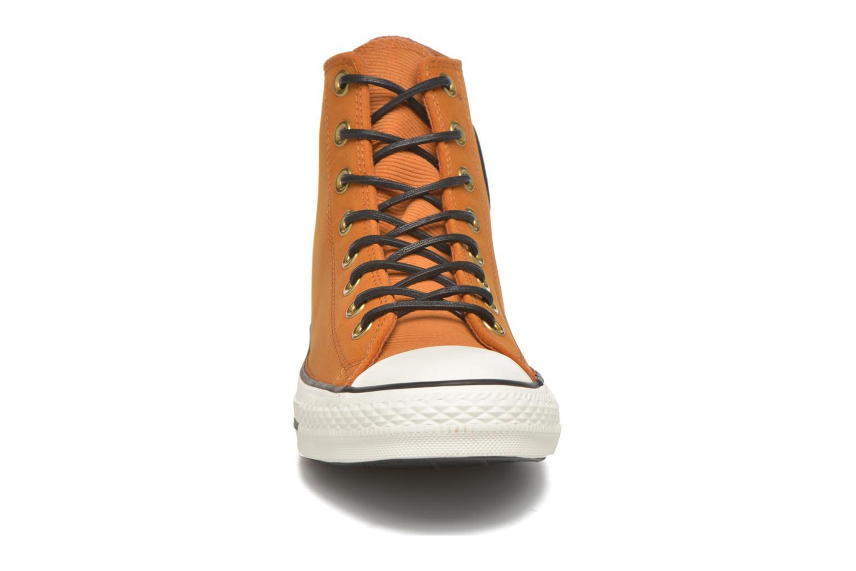 Baskets Converse Ctas Hi Antique M Marron vue portées chaussures