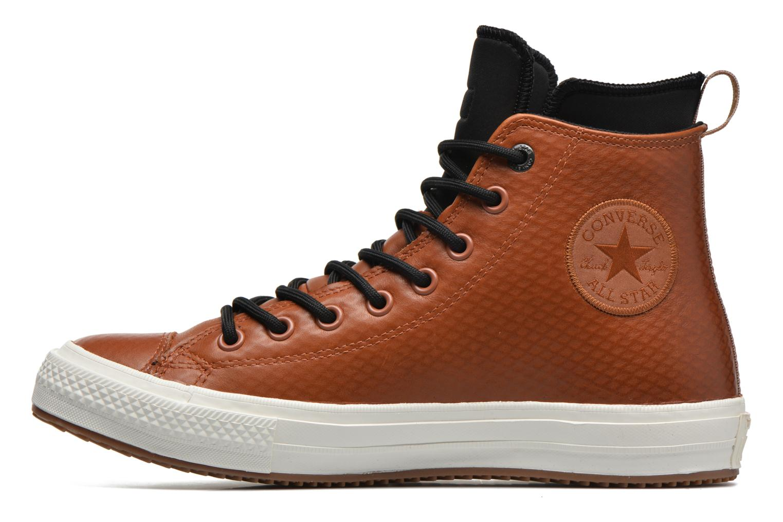 Baskets Converse Ctas II Boot Hi M Marron vue face