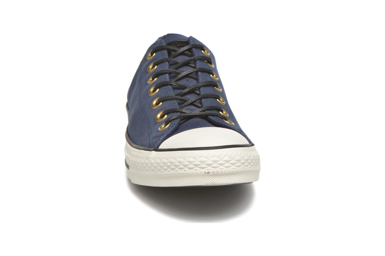 Baskets Converse Ctas Ox Lthr M Bleu vue portées chaussures